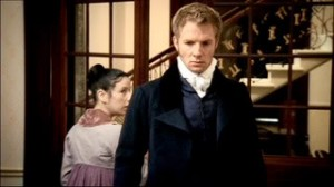 Captain Wentworth, after letting Charles down easy, gets down to the business at hand. His business? Looking hot.