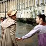 Mrs. Smith, conveniently, catches Anne in the Royal Crescent to inform her that in case she – or the audience – had any lingering hopes that Mr. Elliot is a catch, he's really not. As if we care at this point. (By the way, whatever Mrs. Smith is paying Nurse Rooke, it's not enough. A miracle worker, that woman.)