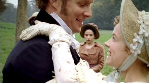 Then again, mabye not. What with the shameless flirting with Louisa Musgrove and all.