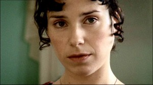 This is Anne Elliot of course, played by the lovely Sally hawkins, who i must admit stares at the camera far too much (it gets slightly creepy).